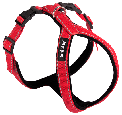 AmiPlay_Ref_Harness_Red